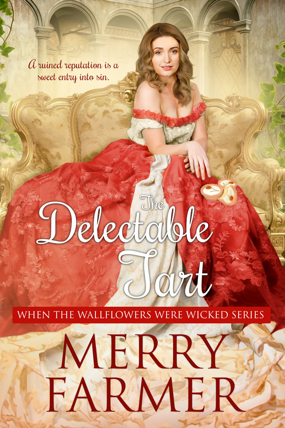 The Delectable Tart (Book Three) - A ruined reputation is a sweet entry into sin…Life is decidedly unfair for Miss Sophie Barnes. After her sisters' falls from grace, she has been left without friends, without a place in society, and without the first clue what to do with her life. All respectable paths are closed to her, but she still wants to make a name for herself instead of feeling invisible in her own skin. And as it turns out, being seen in nothing but her skin might be the solution she's been looking for.Jonathan Foster is the illegitimate son of a sugar plantation owner, and though running his father's business in London has made him wealthy, his true calling is as a pastry chef and confectioner. When he meets Sophie, he sees her as the perfect canvas for his art and the perfect companion for his life. Ambition has never tasted so good.But when a familiar villain is discovered to be selling secrets to French pirates, Sophie and Jonathan must stretch their delicious new alliance to do more than just entertain the members of the ton who once turned their backs on Sophie, they must catch the spies and see them brought to justice.A light-hearted, fun, SUPER steamy, Regency romp—a quick read, not to be taken too seriously.PLEASE BE ADVISED – Steam Level: Five-Alarm Fire with a generous helping of F-bombs. Don't say you weren't warned.