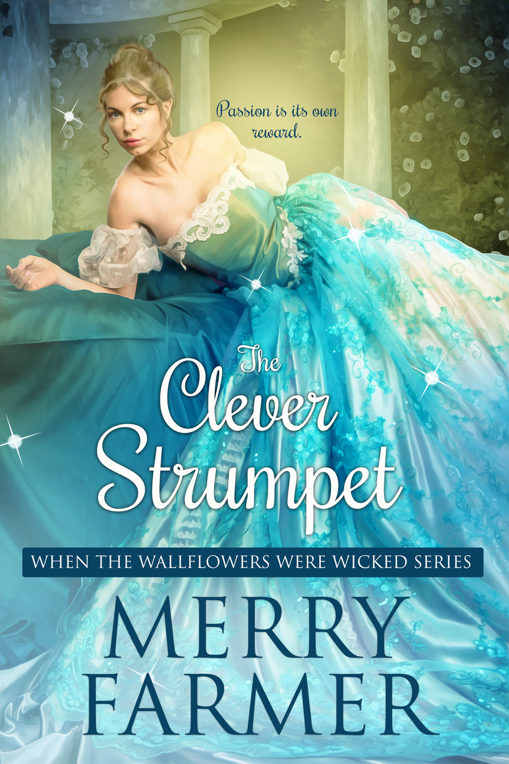 The Clever Strumpet (Book Six) - Lady Caroline Pepys has taken matters into her own hands. Now that she is mistress of the school for young ladies with ruined reputations, she plans not only to give her friends the tools they will need to survive in a hostile world, she intends to claim the hand of the rakish Lord Rufus Herrington for herself. But first she plans to recover the missing Chandramukhi Diamond and bring its thief to justice.Rufus has never fallen so head-over-heels in love with a woman in his life, and he will stop at nothing to help Caro in her quest to recover the diamond. But with pressure mounting for him to marry in order to restore his family's fortunes, will his dalliance with Caro be his last affair before a lifetime of misery or will he and Caro find a way for love to conquer all?A light-hearted, fun, SUPER steamy, Regency romp—a quick read, not to be taken too seriously.PLEASE BE ADVISED – Steam Level: Five-Alarm Fire with a few F-bombs. Don't say you weren't warned.