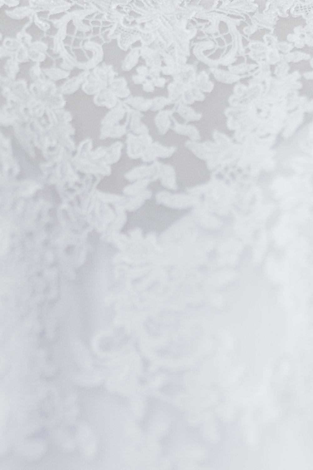 Lace details of wedding dress Maryland wedding