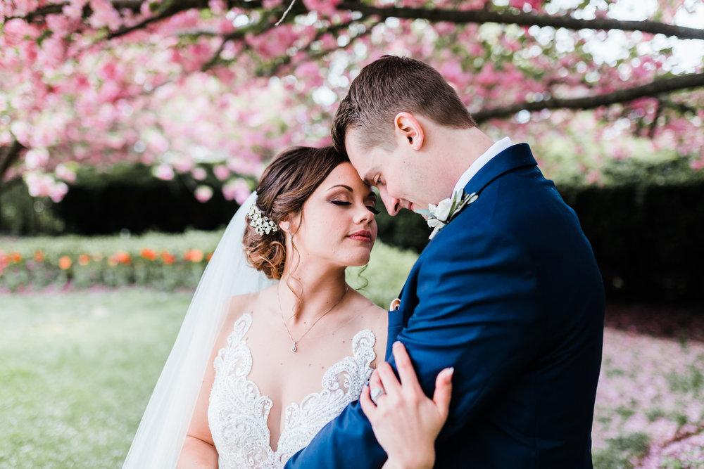 bride and groom romantic portraits maryland wedding photographer
