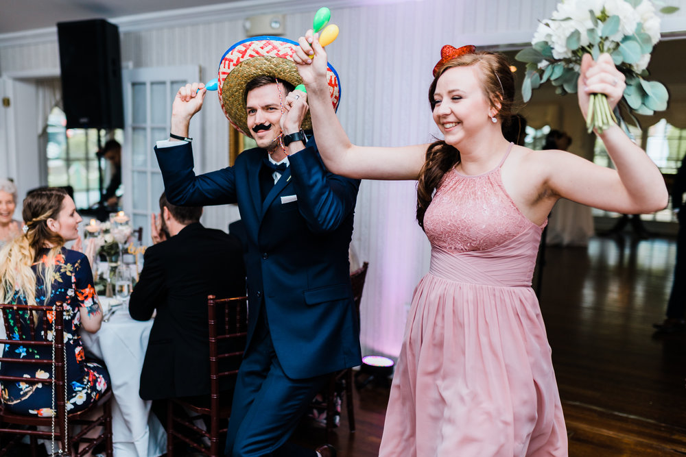 wedding reception intros for carroll county md wedding