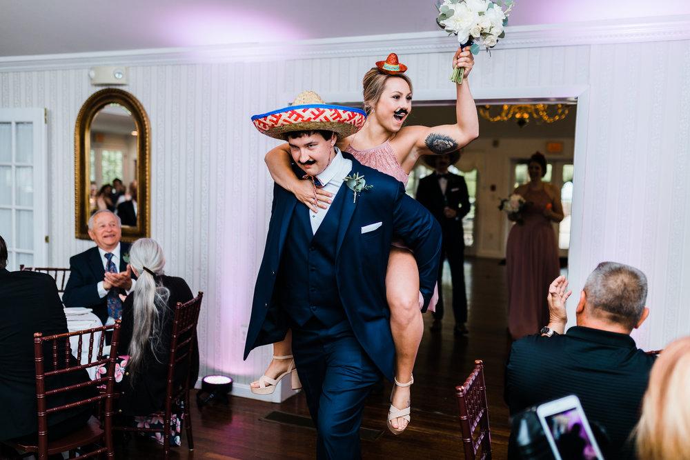 wedding reception introductions antrim 1844