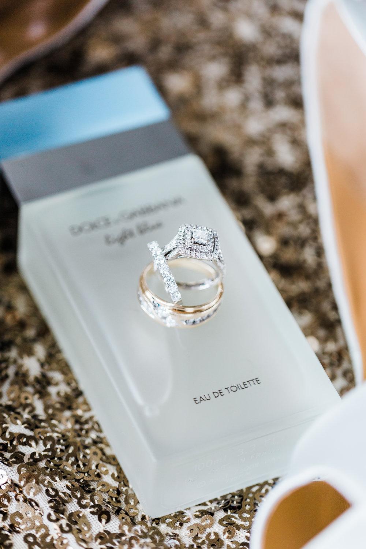 perfume and wedding rings maryland wedding photographer