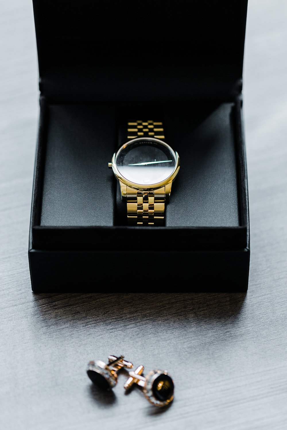 groom's watch, gift from bride, wedding day baltimore maryland