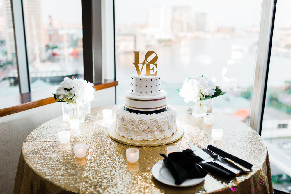 sugar bakers cake in downtown baltimore maryland wedding - photo and film