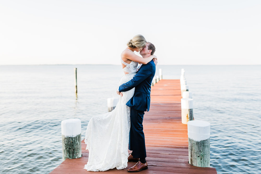 maryland wedding venue on the water - md wedding photographer