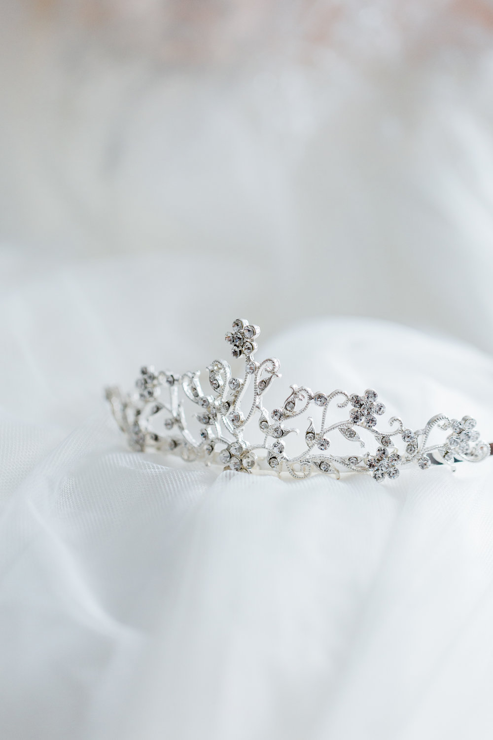 Disney Bridal Tiara - Maryland wedding