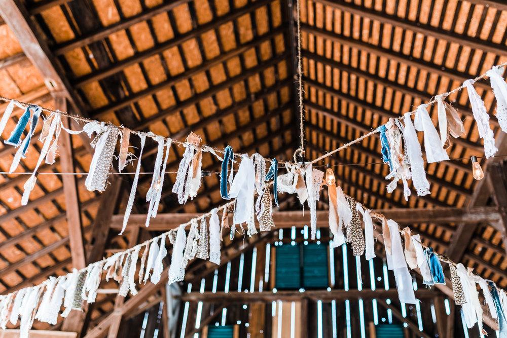 rustic wedding ceremony details - best maryland wedding photographer