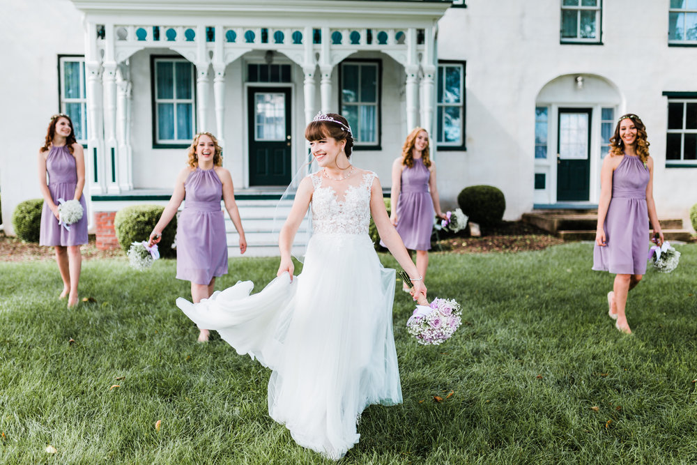 beautiful bride on her maryland wedding day - top maryland photo and video