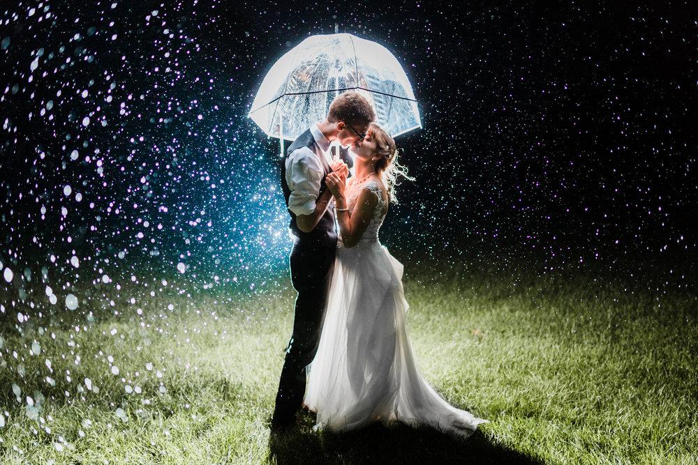 rainy wedding photo inspiration - best wedding photographer in maryland