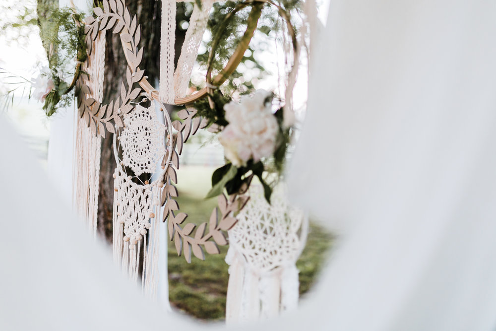 boho dreamcatcher wedding - Chantilly Design & Events - top md wedding photographer and videographer - best maryland wedding planner