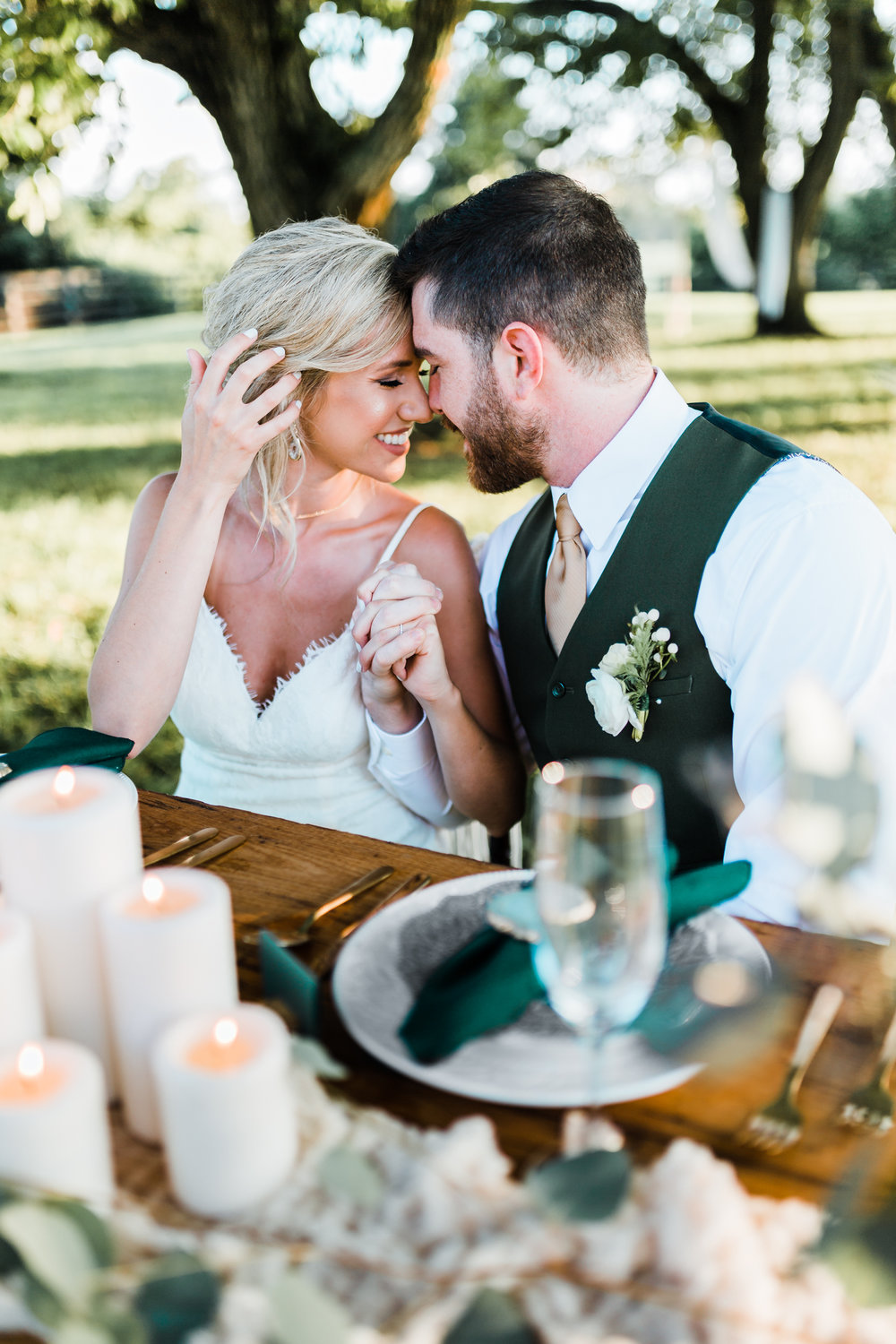 romantic boho wedding - green wedding ideas - bohemian weddings - best maryland wedding photographer