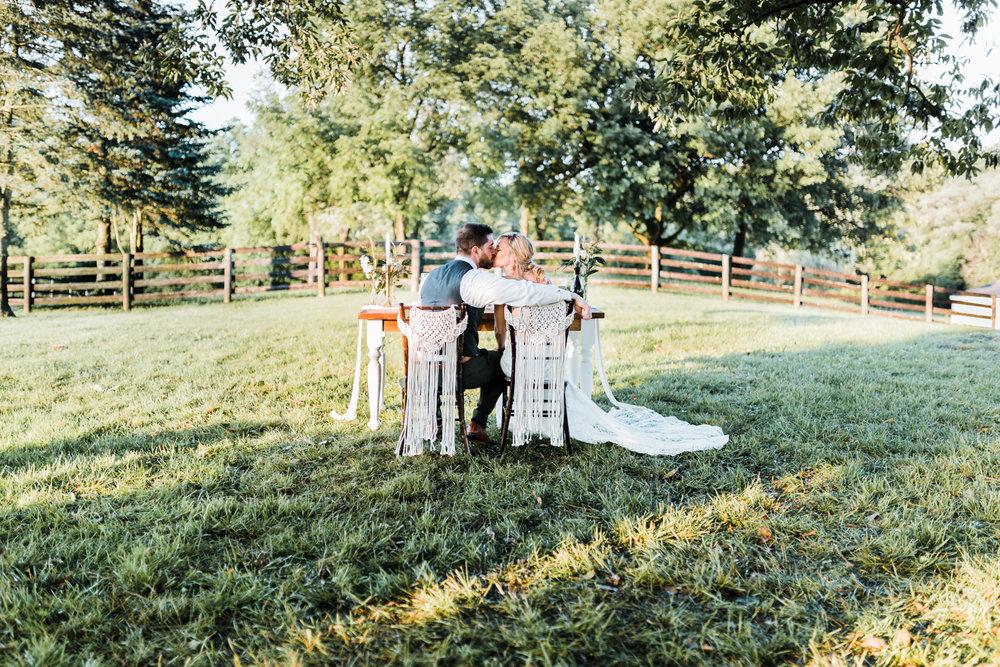romantic boho wedding - montagu meadows - carroll county maryland photographer - best maryland wedding photographer and cinematographer - rustic wedding venues in maryland