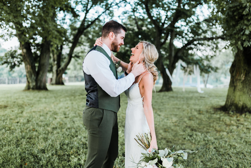 best wedding photographer in maryland - husband and wife team - green and gold wedding ideas