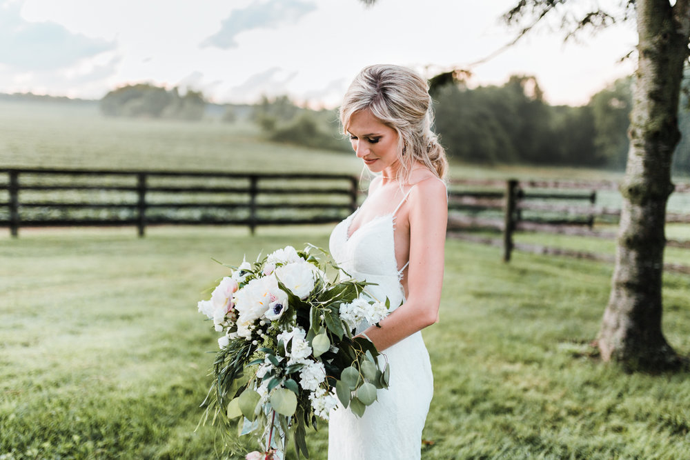 natural wedding colors - rustic wedding venues in maryland - romantic hairstyles for bride