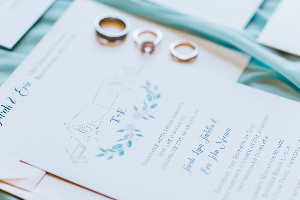 bridal details - wedding invitations - invitation suite - wedding invitation inspo