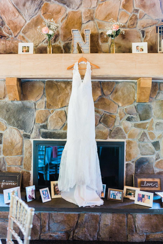 wedding dress - bridal details - Liberty Mountain Resort - Maryland wedding photographer