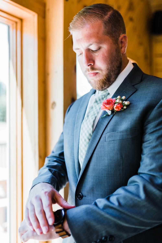 Groom getting ready photos - PA wedding photographer - MD wedding photographer and videographer - PA wedding venues