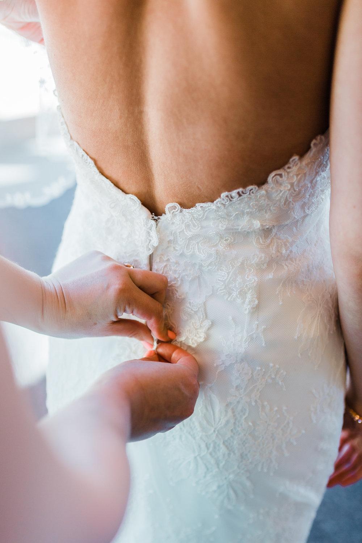 brides dress - wedding dress details - best md wedding photographer and cinematographer