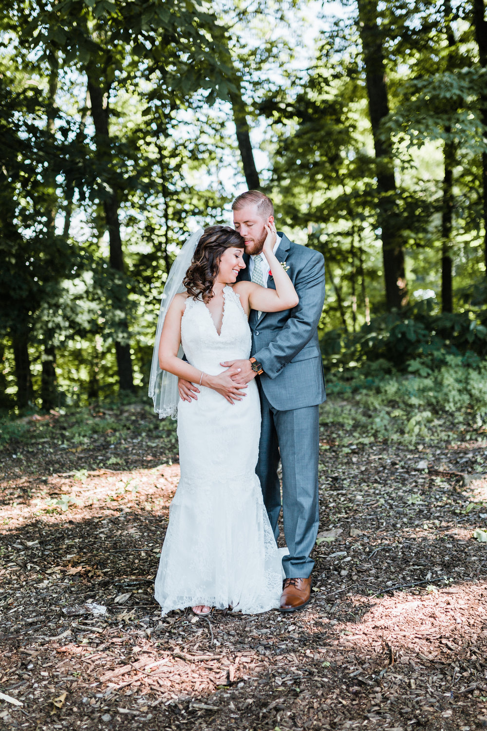 romantic woodland and adventurous mountain wedding in PA - MD wedding photographer and cinematographer