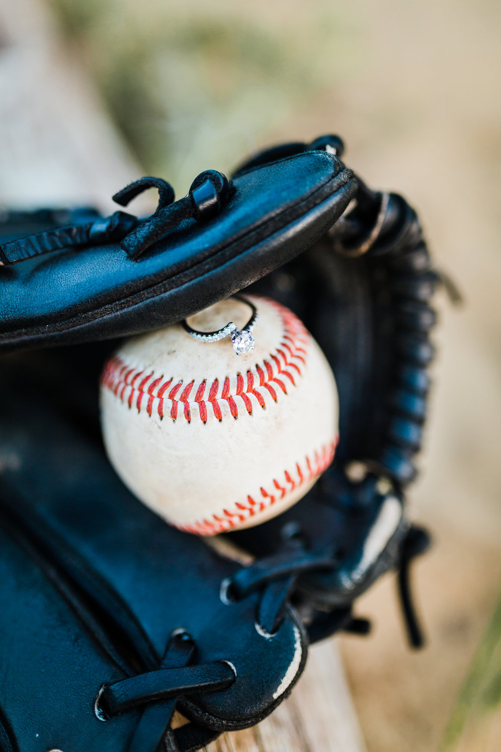 sports engagement session - baseball maryland - the orioles