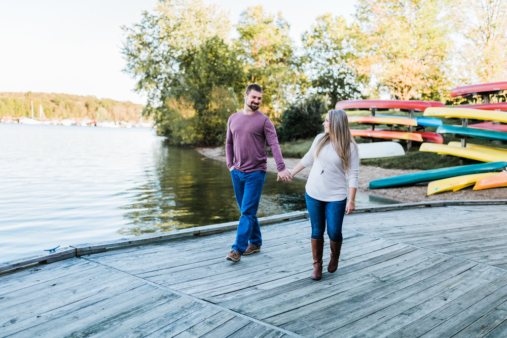 pennsylvania engagement session - codorus state park