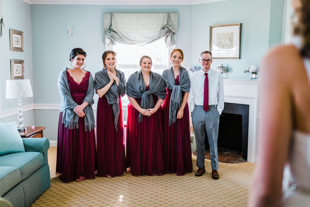 candid wedding photography in Maryland