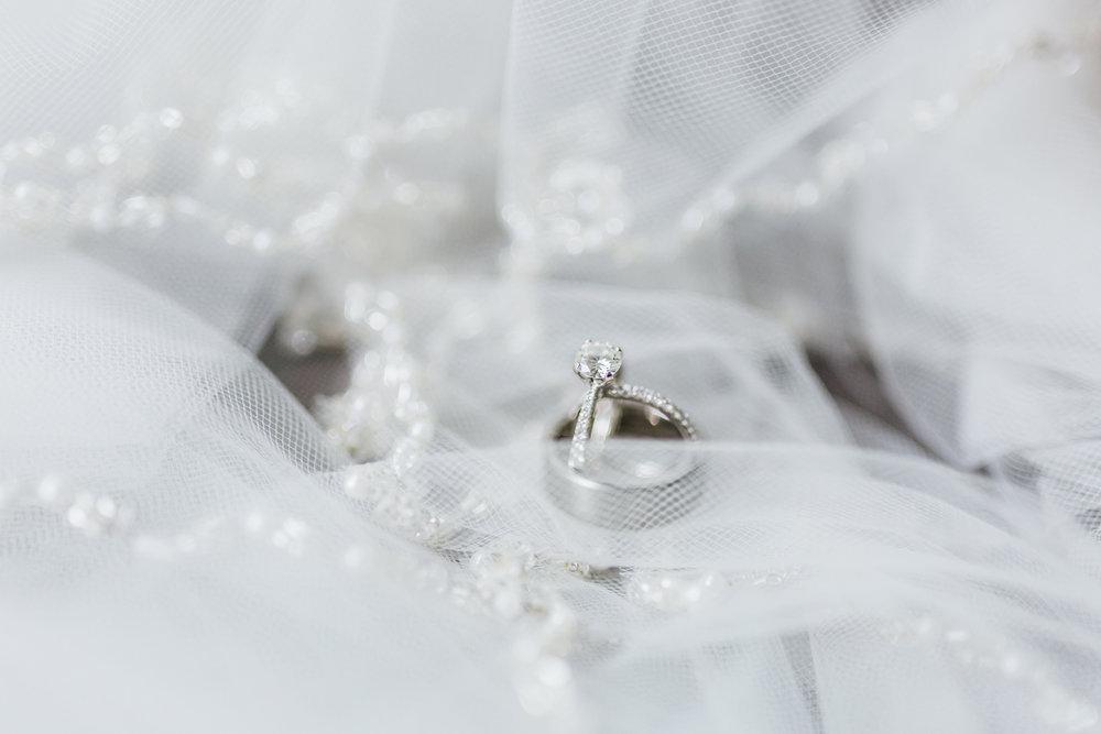 wedding ring details - maryland wedding - md photographer and cinematographer