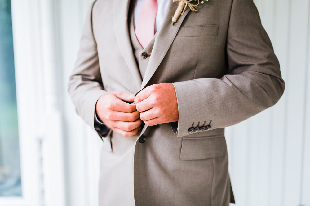 groom details getting ready - Maryland wedding photographer and cinematographer