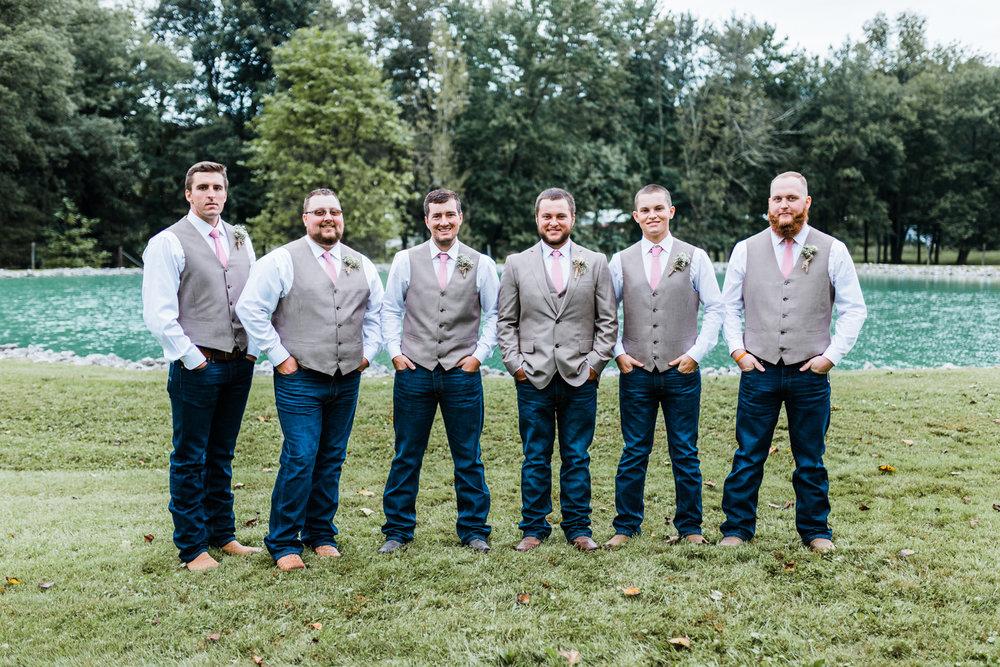Frederick County, Maryland Wedding Photographer - groom and groomsmen inspo