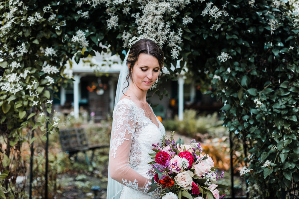 beautiful bride - bridal portrait