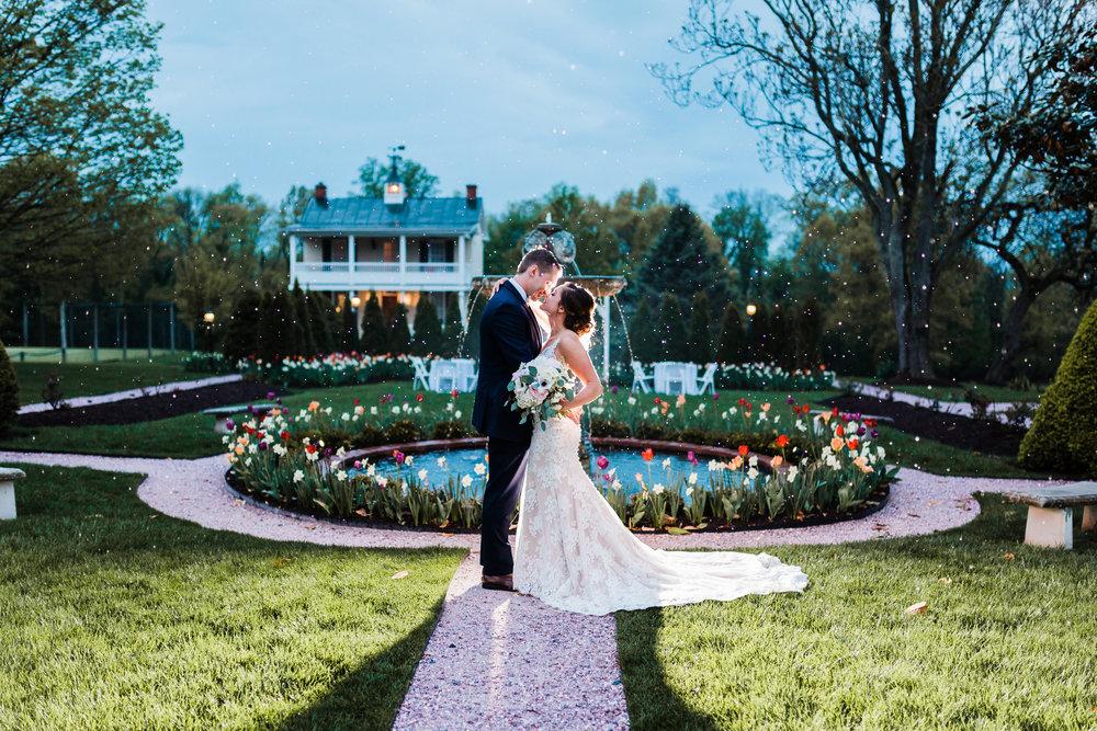 romantic wedding photographer - maryland