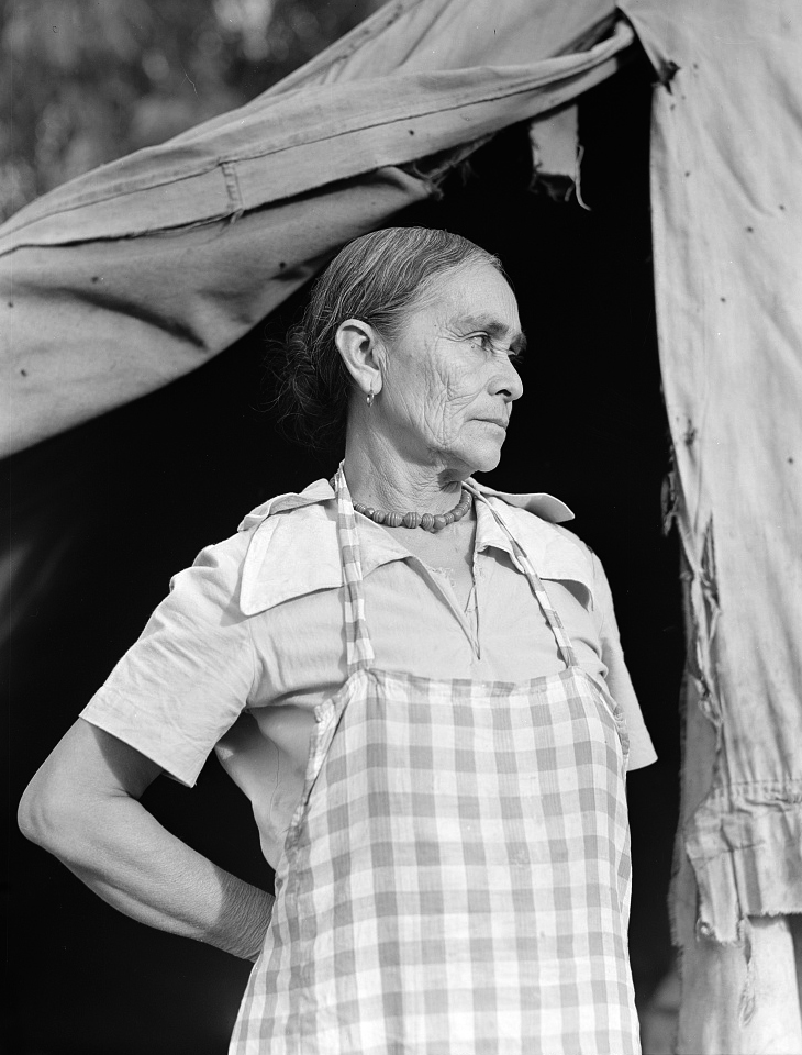 Photograph by Dorothea Lange, Library of Congress