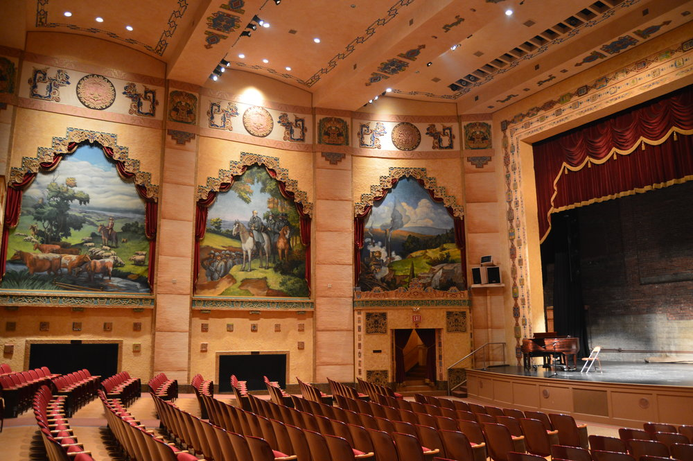 An historic theater and a Hungry Mother - From a Mayan Revival theater to a legend about an early settler, America's