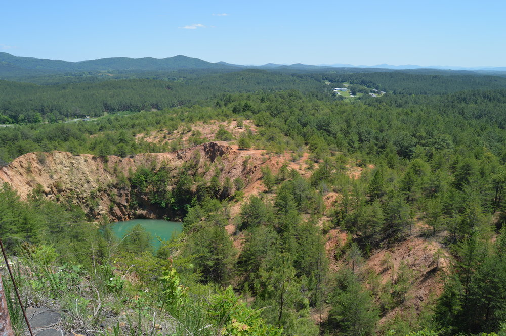 A wild, wild past - The Copper Basin - At one time, the landscape in this part of Tennessee was heavily scarred from copper mining operations. Today, those scars are less visible and thousands of people are flocking to the Copper Basin every year.