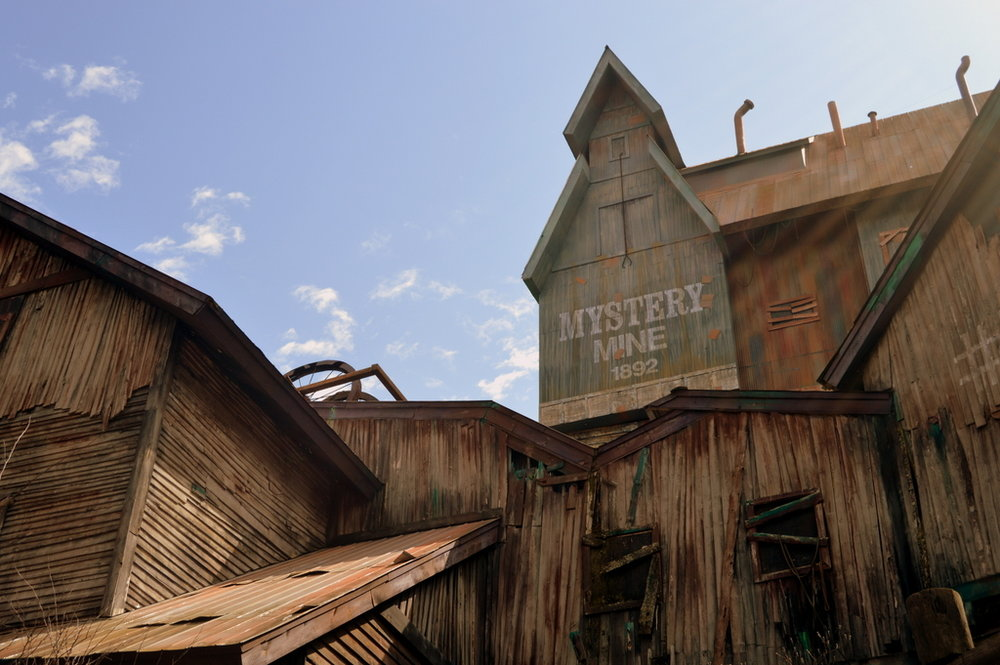 Mystery Mine is one of the most unique rides of its kind, filled with surprises.