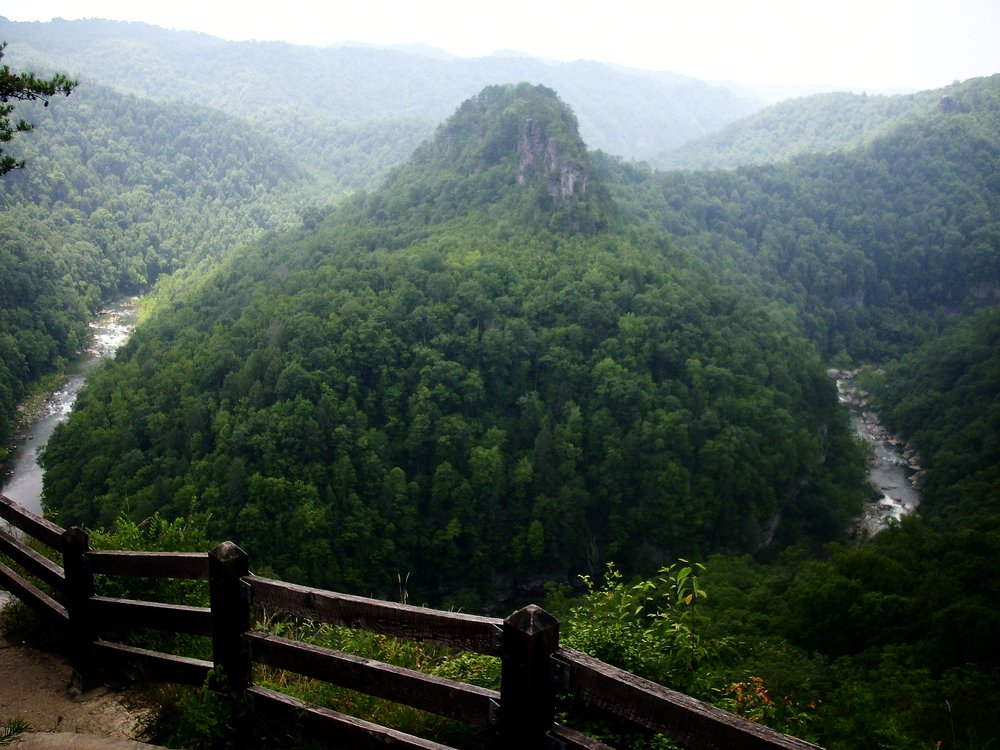 The Grand Canyon of the South - You don't have to travel out west to enjoy the wilds of a deep canyon. Straddling the Kentucky/Tennessee state line just a few hours from Knoxville is Breaks Interstate Park, a natural wonderland where a river carved out of an amazing path through Pine Mountain.