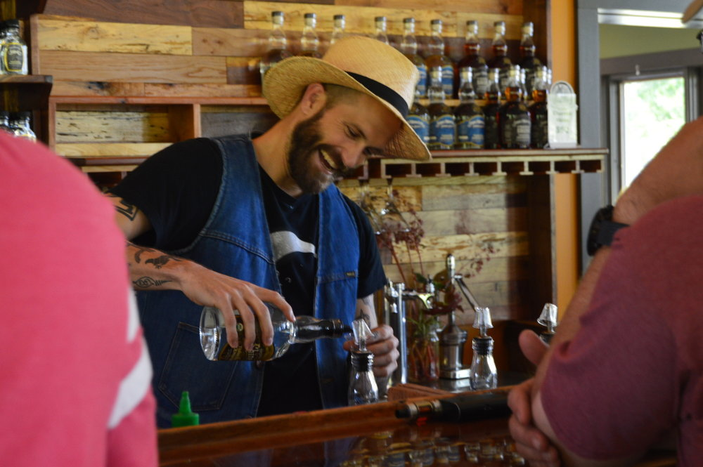 Moonshine in the Center of it all - The area around Center Hill Lake is filled with small town southern charm, abundant beauty, arts, crafts and a great place to try some moonshine.