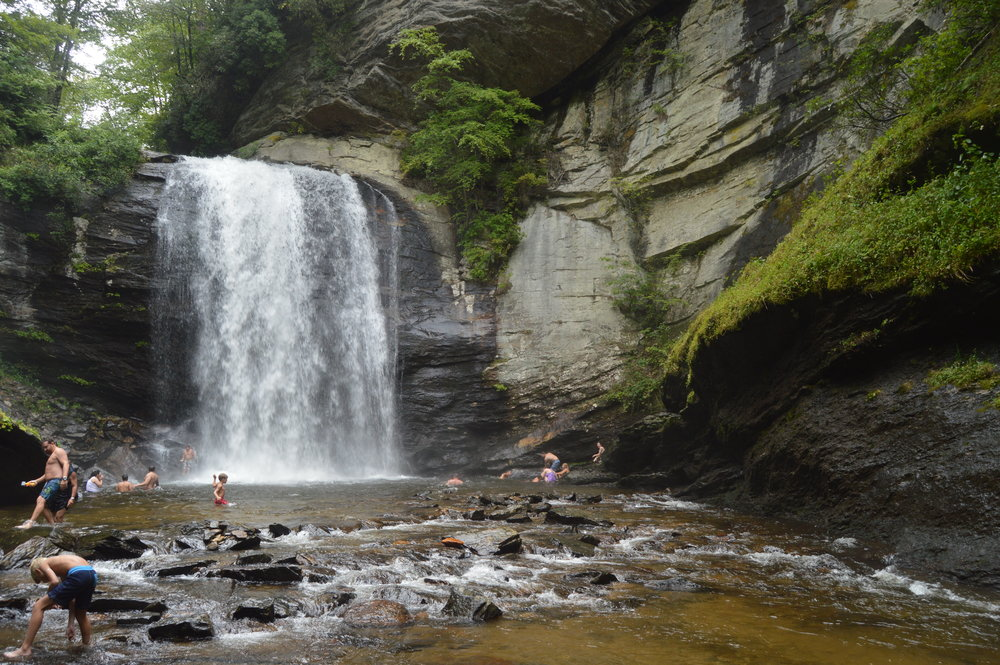 Fall into the Looking Glass - Transylvania County may sound like a place to go vampire hunting, but in this part of North Carolina the hunt for the waterfall is the biggest attraction and you don't have to look far to find one.