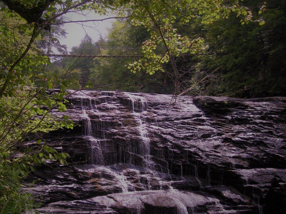 Cane Creek Cascades in Fall Creek Falls (Summer 2009)