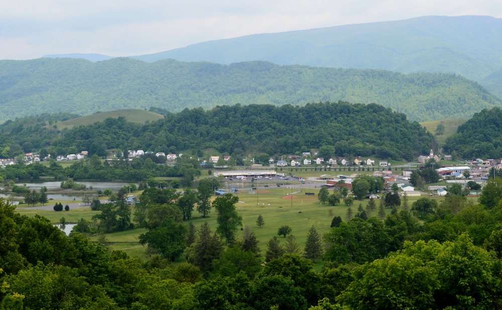 10,000 years ago, the Salt River flowed through this valley in Southwest Virginia. Today, the town of Saltville stands as a testament to the riches that river left behind.