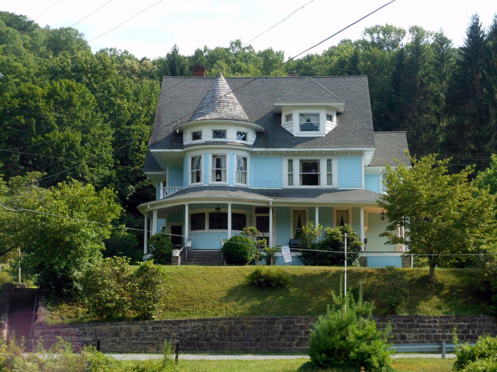 At one time, Bramwell, West Virginia had one of the highest concentrations of millionaires in the country.
