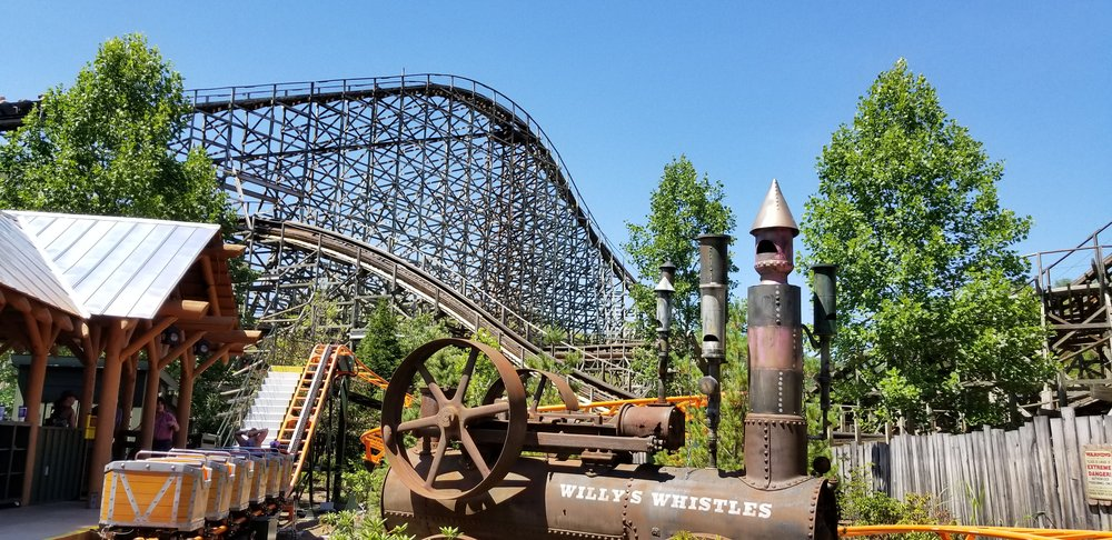 Thunderhead is one of America's favorite wooden roller coasters.