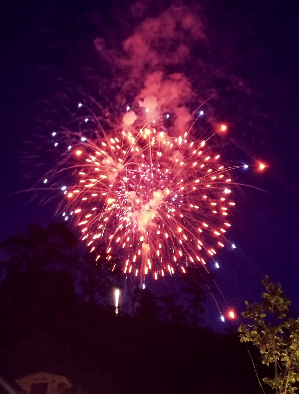 Every night of the Star Spangled Summer ends with a grand fireworks show set to music.
