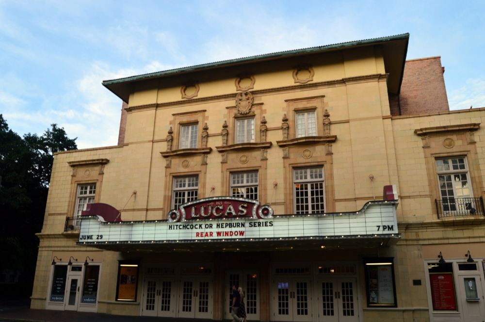 The historic Lucas Theater