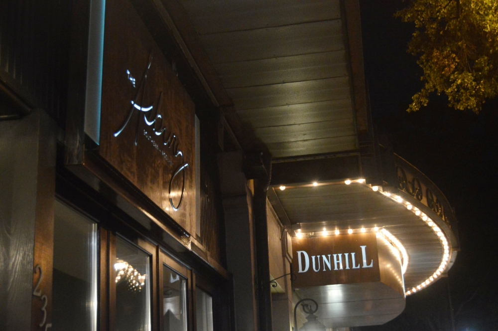 The Dunhill Hotel and its restaurant The Asbury are located in the heart of Uptown Charlotte.