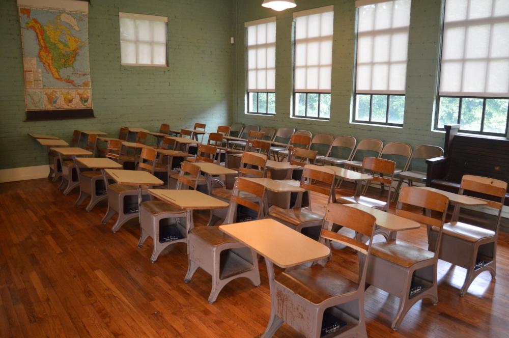 Green McAdoo Museum Old Classroom