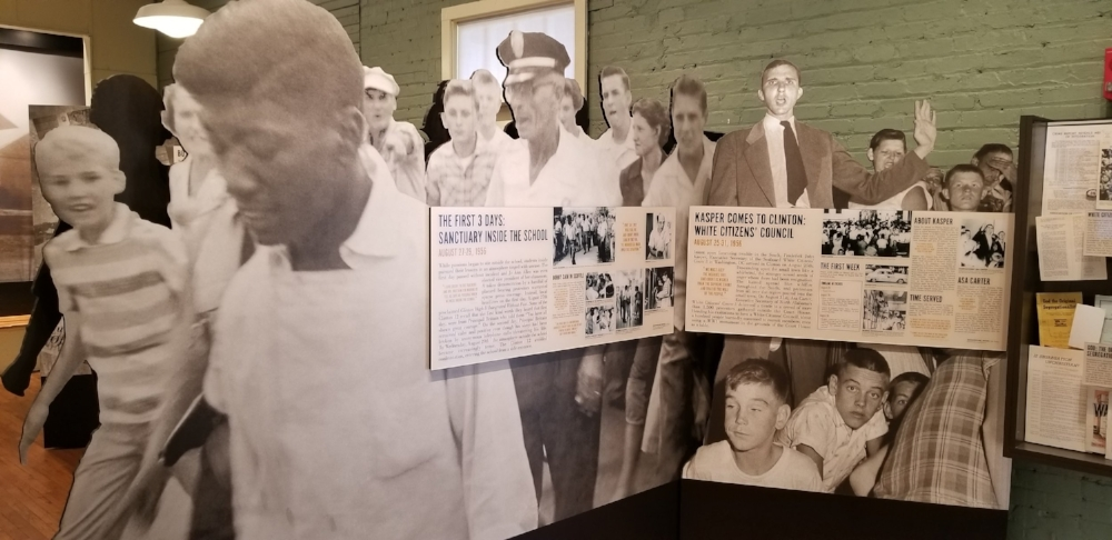The Green McAdoo Museum in Clinton, TN tells the story of the first students to integrate an all-white high public high school in the South.