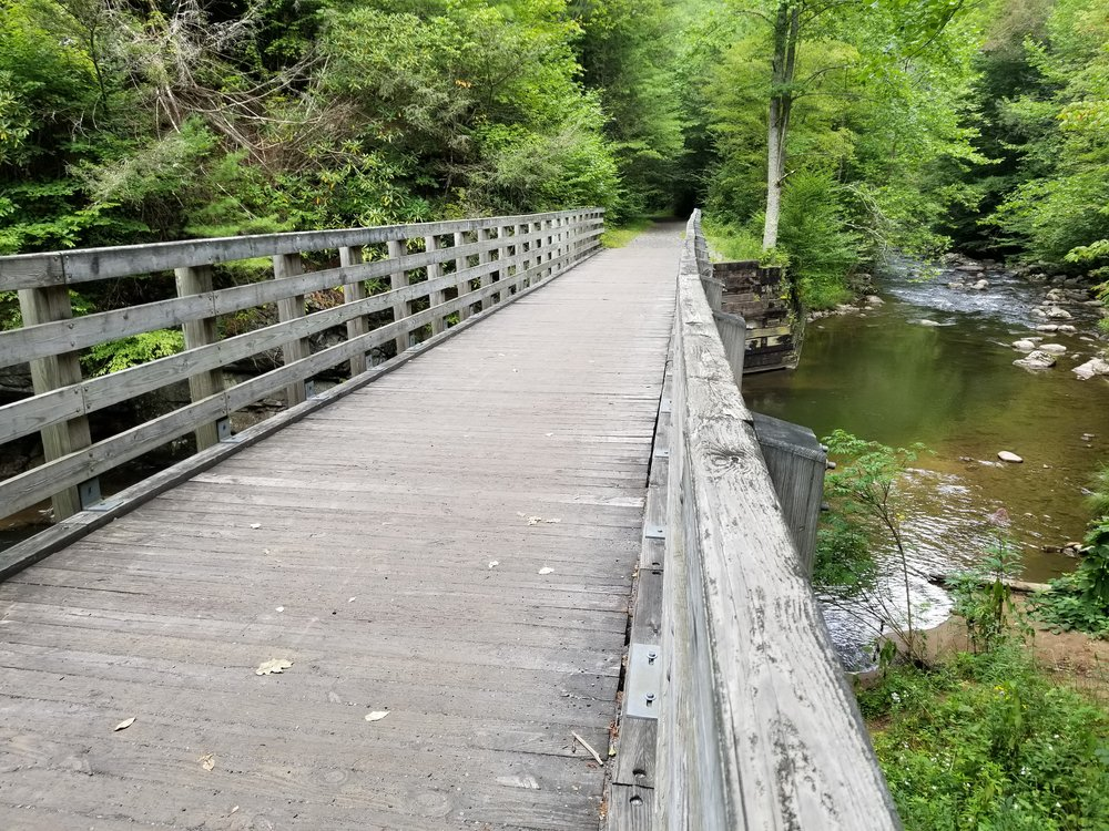 There are more than 45 bridges along the Virginia Creeper Trail.