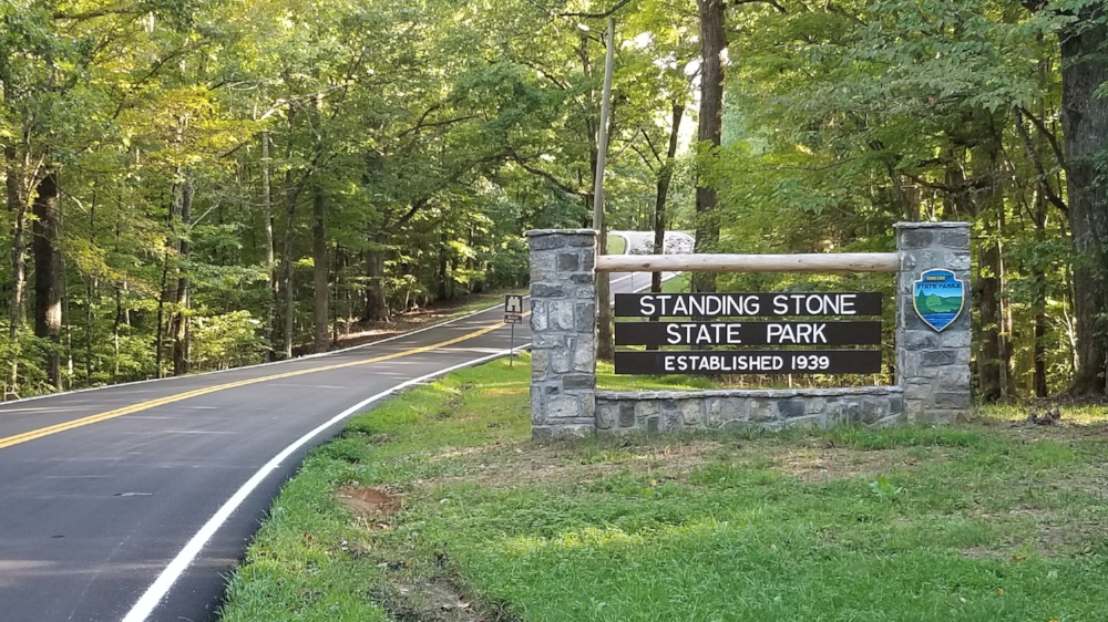 Standing Stone State Park Entrance